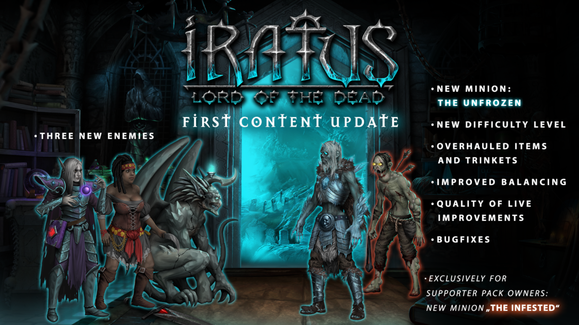 Iratus: Lord of the Dead – Erhält erstes großes Content-Update