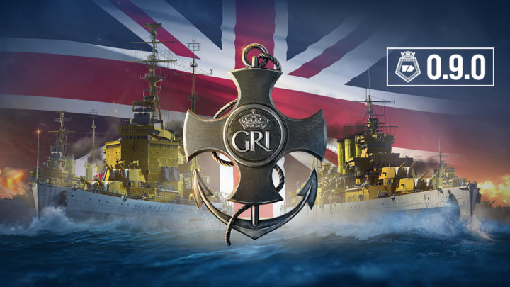 World of Warships – Update 0.9.0 Britische Kreuzer Event