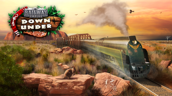 Railway Empire – Down Under DLC ist Online